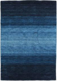 Gabbeh Rainbow - Sininen Matto 140X200 Moderni Tummansininen/Sininen (Villa, Intia)