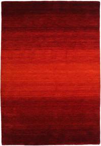 Gabbeh Rainbow - Punainen Matto 160X230 Moderni Ruoste/Tummanpunainen/Tummanruskea (Villa, Intia)