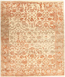 Roma Moderni Collection Matto 255X302 Moderni Käsinsolmittu Beige/Tummanbeige Isot ( Intia)