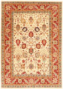 Ziegler Matto 170X241 Itämainen Käsinsolmittu Punainen/Beige (Villa, Pakistan)