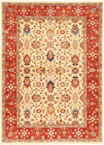 Ziegler Matto 174X240 Itämainen Käsinsolmittu Beige/Punainen (Villa, Pakistan)