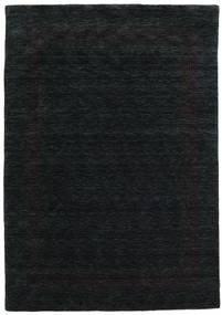 Handloom Gabba - Musta/Harmaa Matto 160X230 Moderni Musta (Villa, Intia)