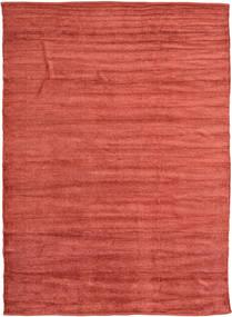 Kelim Chenille - Coppery_ Matto 210X290 Itämainen Käsinkudottu ( Intia)