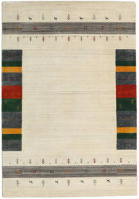 Loribaf Loom Designer - Lt.beige Mix Matto 160X230 Moderni Beige/Tummanbeige (Villa, Intia)