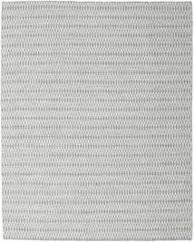 Kelim Long Stitch - Harmaa Matto 240X300 Moderni Käsinkudottu Vaaleanharmaa/Siniturkoosi (Villa, Intia)