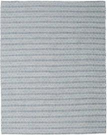 Kelim Long Stitch - Sininen Matto 240X300 Moderni Käsinkudottu Vaaleanharmaa/Vaaleansininen (Villa, Intia)