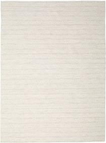 Kelim Long Stitch - Beige Matto 290X390 Moderni Käsinkudottu Vaaleanharmaa/Beige Isot (Villa, Intia)