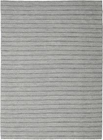 Kelim Long Stitch - Musta/Harmaa Matto 290X390 Moderni Käsinkudottu Vaaleanharmaa/Siniturkoosi Isot (Villa, Intia)