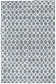 Kelim Long Stitch - Sininen Matto 120X180 Moderni Käsinkudottu Vaaleansininen/Valkoinen/Creme (Villa, Intia)