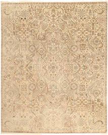 Tabriz Royal Matto 241X302 Itämainen Käsinsolmittu Beige/Vaaleanruskea/Tummanbeige ( Intia)