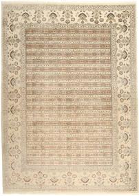 Tabriz Royal Matto 264X362 Itämainen Käsinsolmittu Beige/Vaaleanruskea Isot ( Intia)