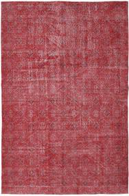 Colored Vintage Matto 186X287 Moderni Käsinsolmittu Ruoste/Punainen/Tummanpunainen (Villa, Turkki)