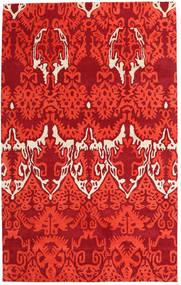 Handtufted Matto 153X246 Moderni Punainen (Villa, Intia)