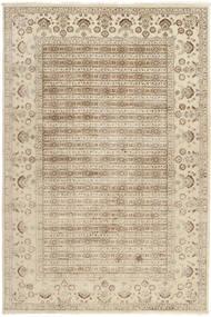 Tabriz Royal Matto 199X300 Itämainen Käsinsolmittu Beige/Vaaleanharmaa ( Intia)