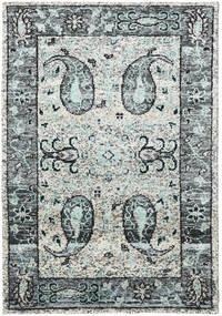 Vega Sari Silkki - Harmaa Matto 140X200 Moderni Käsinsolmittu Vaaleanharmaa/Musta (Silkki, Intia)