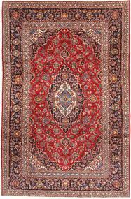 Keshan Matto 198X305 Itämainen Käsinsolmittu Tummanpunainen/Ruoste (Villa, Persia/Iran)