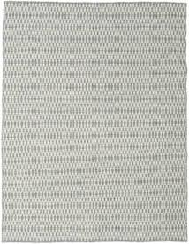Kelim Long Stitch - Harmaa Matto 190X240 Moderni Käsinkudottu Vaaleanharmaa/Beige (Villa, Intia)