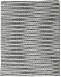 Kelim Long Stitch - Musta/Harmaa Matto 190X240 Moderni Käsinkudottu Vaaleanharmaa/Tummanharmaa (Villa, Intia)