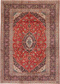 Keshan Matto 253X375 Itämainen Käsinsolmittu Tummanpunainen/Ruoste Isot (Villa, Persia/Iran)