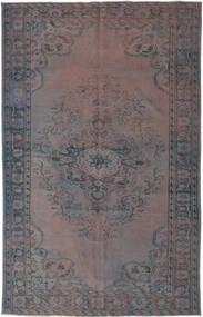 Colored Vintage Matto 170X276 Moderni Käsinsolmittu Tummanruskea/Tummanharmaa (Villa, Turkki)