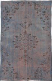 Colored Vintage Matto 167X263 Moderni Käsinsolmittu Tummanharmaa/Tummanruskea (Villa, Turkki)