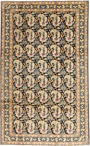Najafabad Matto 196X320 Itämainen Käsinsolmittu Tummanbeige/Vaaleanruskea (Villa, Persia/Iran)