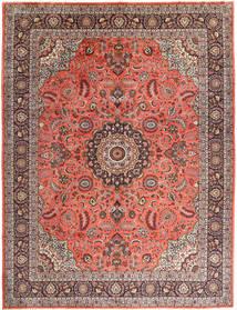 Hamadan Matto 310X400 Itämainen Käsinsolmittu Ruskea/Tummanpunainen Isot (Villa, Persia/Iran)