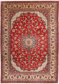 Najafabad Matto 266X390 Itämainen Käsinsolmittu Tummanpunainen/Ruoste Isot (Villa, Persia/Iran)