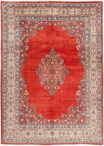 Sarough Matto 272X380 Itämainen Käsinsolmittu Ruskea/Vaaleanharmaa Isot (Villa, Persia/Iran)