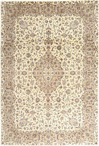 Keshan Matto 243X350 Itämainen Käsinsolmittu Beige/Vaaleanharmaa (Villa, Persia/Iran)