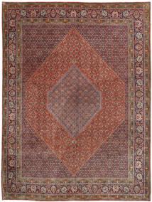 Bidjar Matto 300X407 Itämainen Käsinsolmittu Tummanpunainen/Tummanruskea Isot (Villa, Persia/Iran)