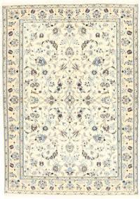Nain 6La Matto 100X153 Itämainen Käsinsolmittu Beige/Vaaleanharmaa (Villa/Silkki, Persia/Iran)
