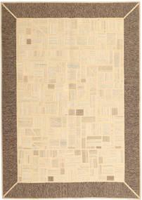 Kelim Patchwork Matto 169X239 Moderni Käsinkudottu Beige/Ruskea (Villa, Persia/Iran)
