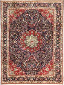 Tabriz Patina Matto 247X335 Itämainen Käsinsolmittu Tummanpunainen/Tummanvioletti (Villa, Persia/Iran)