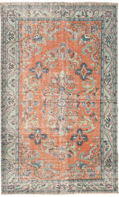 Colored Vintage Matto 182X294 Moderni Käsinsolmittu Vaaleanharmaa/Vaaleanpunainen (Villa, Turkki)