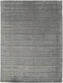 Loribaf Loom Delta - Harmaa Matto 290X390 Moderni Tummanharmaa/Vaaleanharmaa Isot (Villa, Intia)