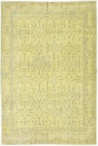 Colored Vintage Matto 172X263 Moderni Käsinsolmittu Keltainen/Vaaleanvihreä (Villa, Turkki)