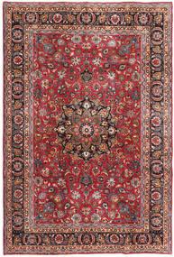 Mashad Patina Matto 192X288 Itämainen Käsinsolmittu Tummanpunainen/Tummanruskea (Villa, Persia/Iran)