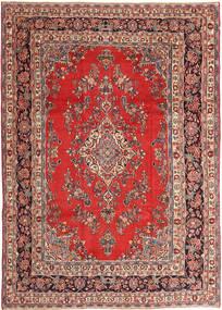 Hamadan Patina Matto 250X360 Itämainen Käsinsolmittu Tummanpunainen/Ruoste Isot (Villa, Persia/Iran)
