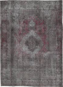 Colored Vintage Matto 202X283 Moderni Käsinsolmittu Tummanharmaa/Tummanruskea (Villa, Persia/Iran)