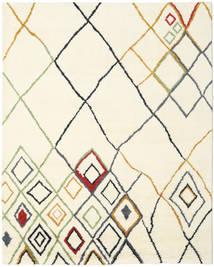 Berber Indo - Off-Valkoinen/Multi Matto 240X300 Moderni Käsinsolmittu Beige/Valkoinen/Creme (Villa, Intia)
