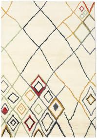 Berber Indo - Off-Valkoinen/Multi Matto 160X230 Moderni Käsinsolmittu Beige/Valkoinen/Creme (Villa, Intia)