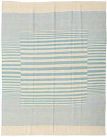 Kelim Moderni Matto 181X230 Moderni Käsinsolmittu Beige/Siniturkoosi (Villa, Intia)