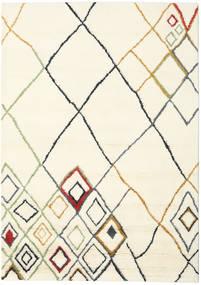 Berber Indo - Off-Valkoinen/Multi Matto 210X290 Moderni Käsinsolmittu Beige/Valkoinen/Creme (Villa, Intia)