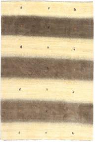 Gabbeh Persia Matto 197X291 Moderni Käsinsolmittu Beige/Keltainen/Vaaleanruskea (Villa, Persia/Iran)