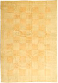 Gabbeh Persia Matto 206X295 Moderni Käsinsolmittu Keltainen/Vaaleanruskea (Villa, Persia/Iran)