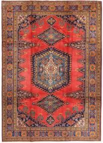 Wiss Matto 214X336 Itämainen Käsinsolmittu Tummanpunainen/Ruskea (Villa, Persia/Iran)