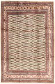 Sarough Mir Matto 214X323 Itämainen Käsinsolmittu Ruskea/Beige (Villa, Persia/Iran)