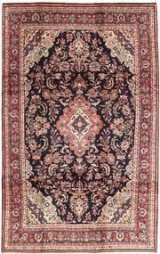 Hamadan Shahrbaf Matto 200X315 Itämainen Käsinsolmittu Tummanpunainen/Ruskea (Villa, Persia/Iran)