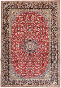 Najafabad Matto 250X360 Itämainen Käsinsolmittu Tummanpunainen/Ruskea Isot (Villa, Persia/Iran)